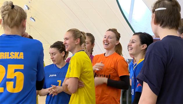 Жіноча збірна з гандболу у Конча-Заспі