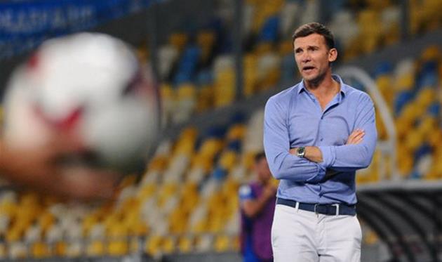 Шевченко огласил расширенный состав украинской сборной пофутболу