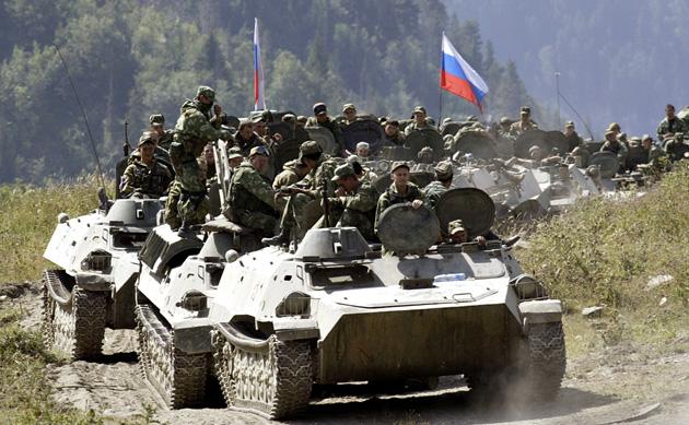 Російські військові в Осетії