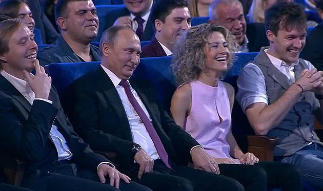 Масляков, Путин