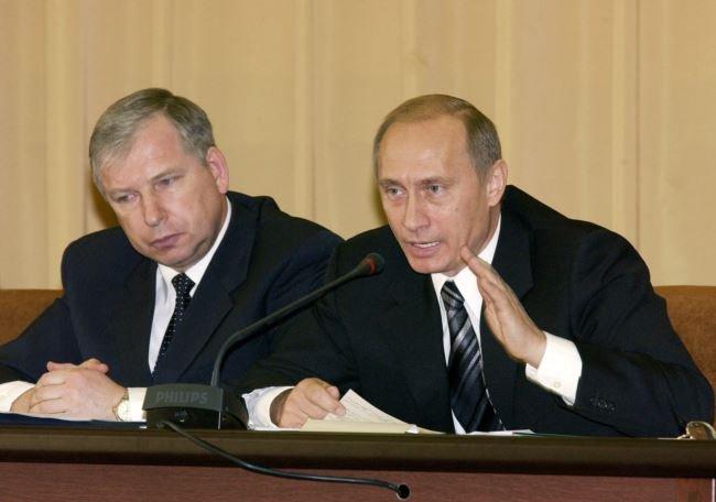 Віктор Черкесов і Володимир Путін, 2004 рік