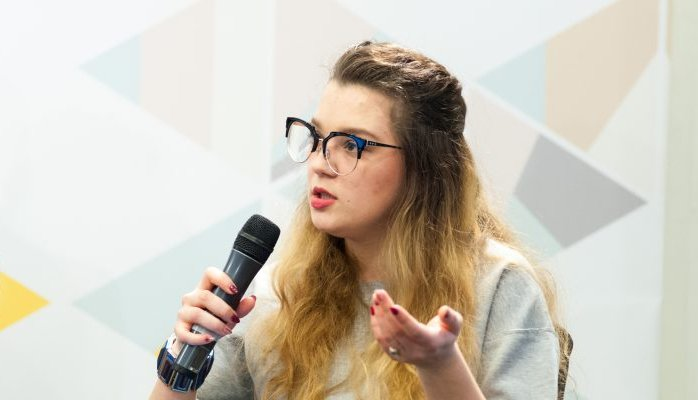 Лідія Фесенко - президент Української асоціації студентів