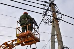 Непогода оставила без света 69 населенных пунктов в пяти областях