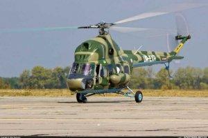 На Львівщині впав вертоліт Мі-2