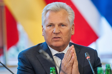 Kwaśniewski - Ukraina to kwestia strategiczna, nie możemy zajmować się tylko historią