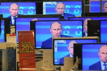 Only 13% of Ukrainians use Russian media
