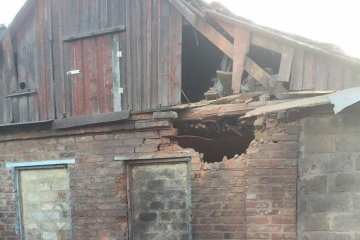 Residential building in Avdiivka damaged as result of shelling by militants