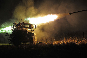 Militants launched 78 attacks on Ukrainian troops in Donbas in last day