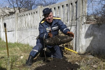 Balakliia and nine surrounding villages cleaned from explosive devices