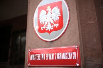 """Polen verurteilt russische """"Wahlen"""" auf besetzter Krim und in besetzten Gebieten"""