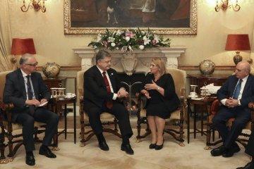 Poroschenko und Coleiro Preca sprechen über EU-Sanktionen gegen Russland