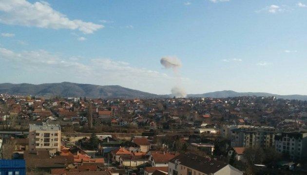 На військовому заводі в Сербії сталося два вибухи: є постраждалі