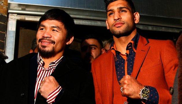 Боксерський супербій Пакьяо - Хан пройде 20 травня в ОАЕ