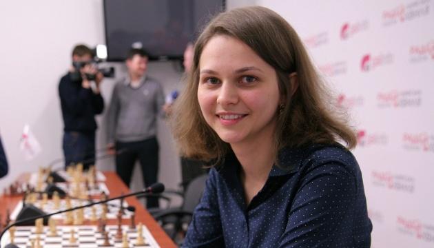 Anna Muzychuk ocupa el cuarto lugar en el ranking de febrero de las mejores ajedrecistas del mundo