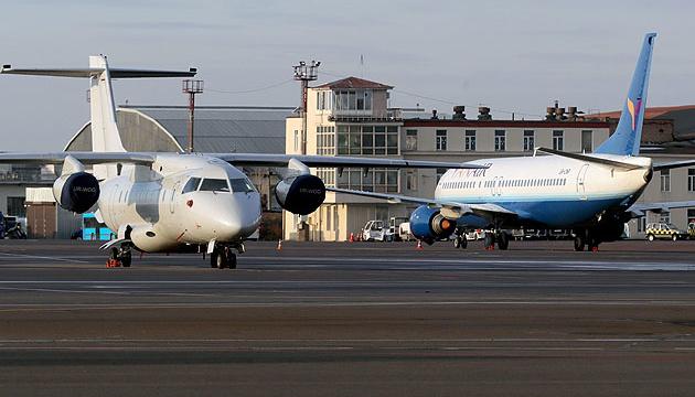 """Аеропорт """"Київ"""" відновив роботу після інциденту з літаком"""