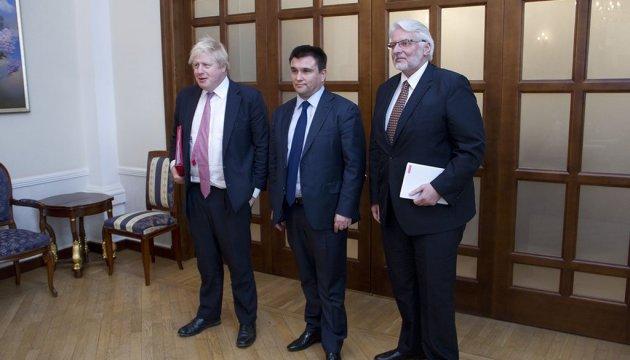 Клімкін вдячний Британії та Польщі за практичну допомогу