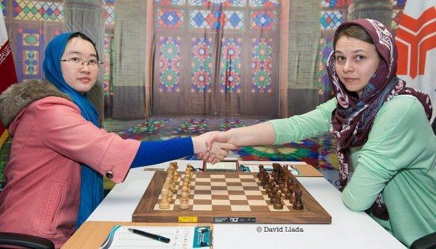 Музичук програла китаянці Тань у фіналі чемпіонату світу з шахів