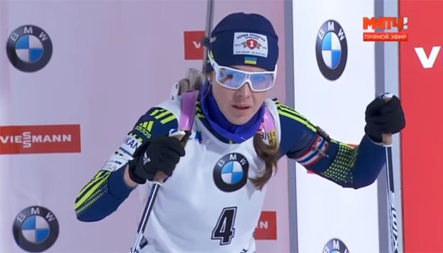 Джима у першій десятці загального заліку Кубка світу з біатлону