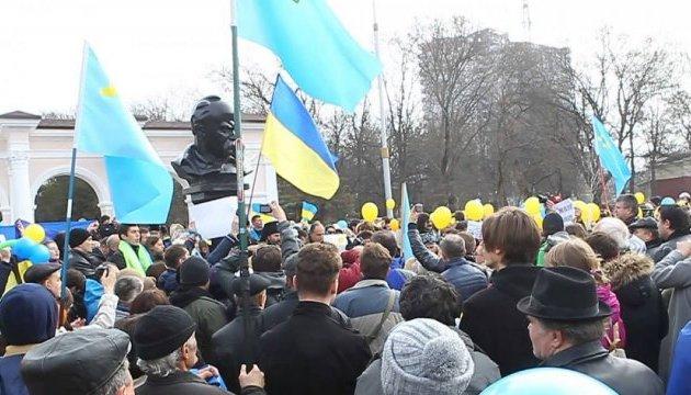 Окупанти заборонили мітинг пам'яті Тараса Шевченка у Сімферополі
