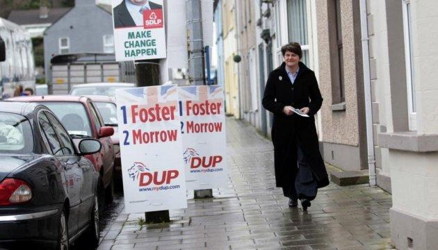 Вибори у Північній Ірландії виграла пробританська партія