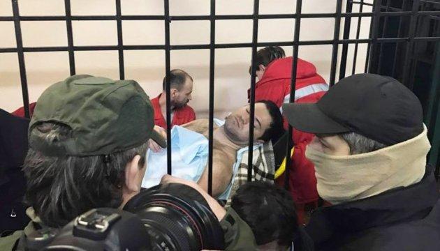 Медики констатували, що у Насірова незначне підвищення тиску