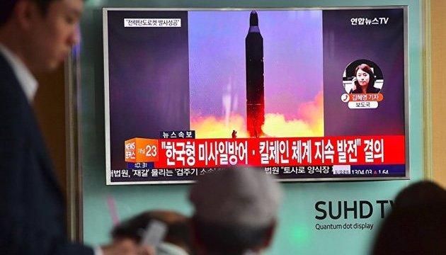КНДР запустила ракету в бік Японії - Bloomberg