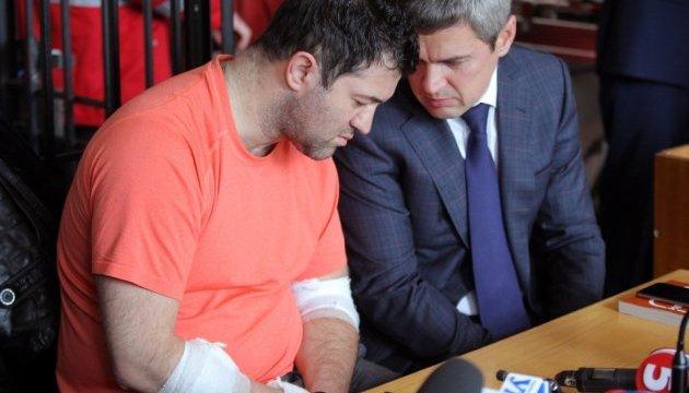 Соломенский суд: заседание продолжается, Насиров сидит возле адвокатов