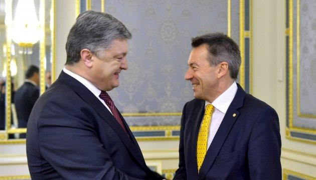 President Poroshenko met with Peter Maurer, President of ICRC