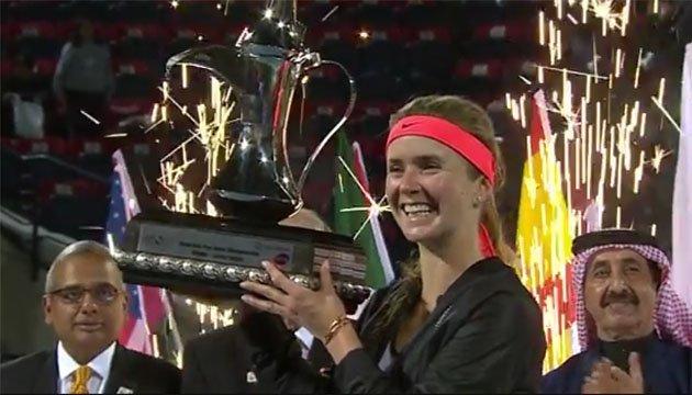 Элина Свитолина номинирована дважды в ежемесячном рейтинге WTA