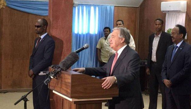 Генсек ООН: Еще есть шанс не допустить голод в Сомали