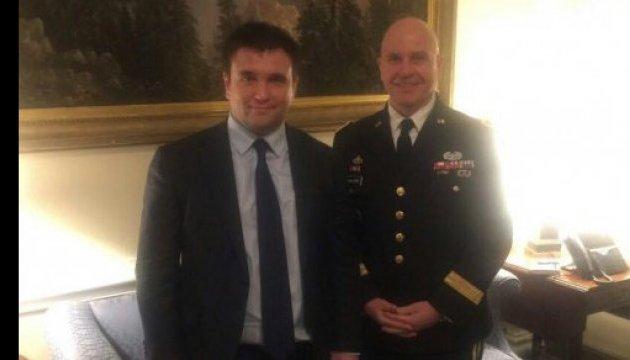Климкин поблагодарил США за поддержку Украины