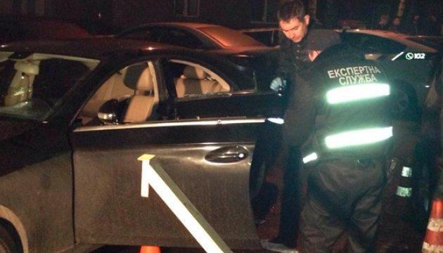 Полиция рассказала подробности расстрела машины бизнесмена в центре Киева