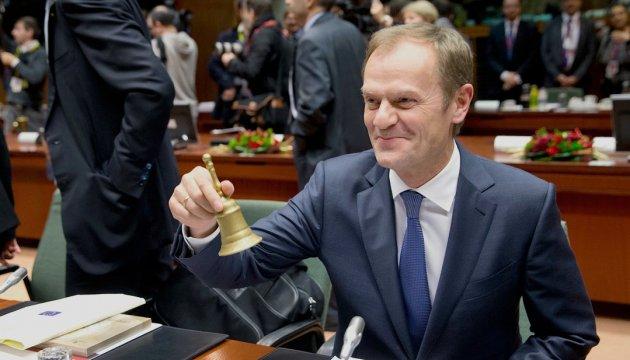 Туска переизбрали главой Европейского совета