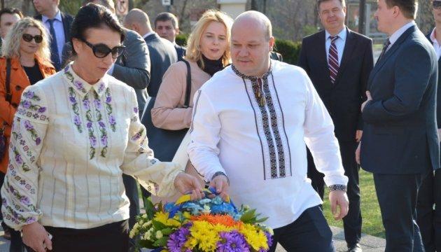 В Вашингтоне тоже отметили день рождения  Тараса Шевченко