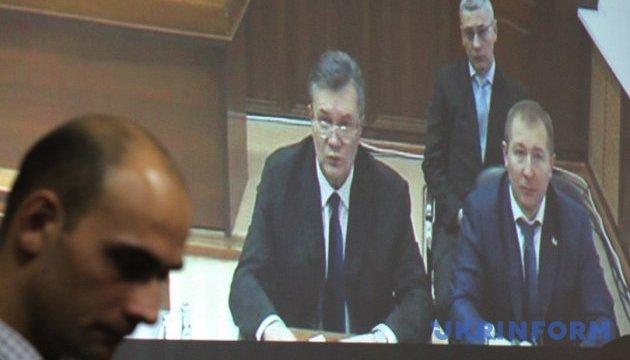 Суд відмовив захисту Януковича в перенесенні засідання