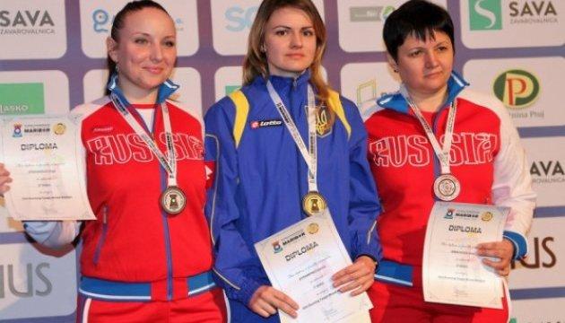 Украинцы собрали полный комплект наград на Евро-2017 по пулевой стрельбе