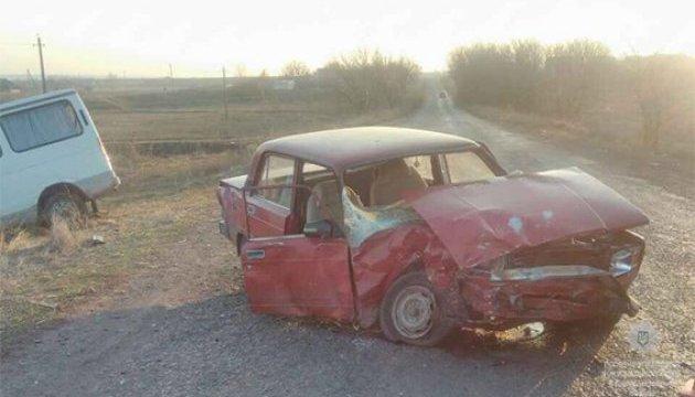 В Днепропетровской области в ДТП пострадали шесть человек
