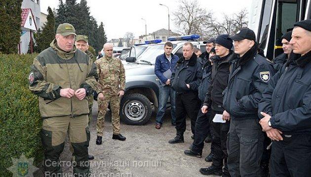 Янтарные войны: полиция прислала на Волынь подкрепление