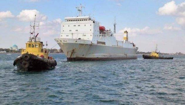 Россия заявляет, что Турция больше не пускает паромы из Крыма
