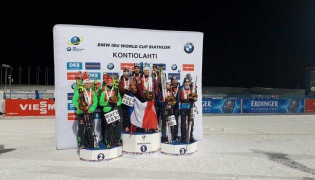Украинские биатлонисты завершили финский этап Кубка мира
