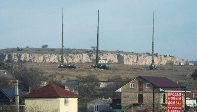 В окупованому Криму росіяни розгорнули нову сучасну зброю