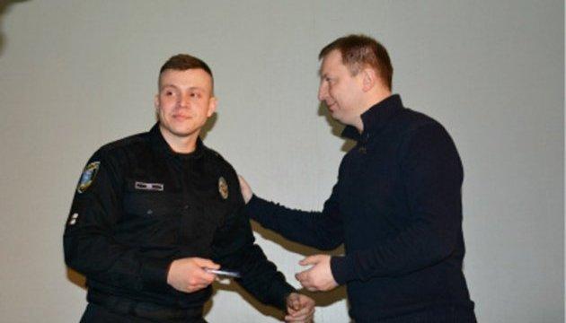 У Тернополі відзначили першу річницю створення Патрульної поліції