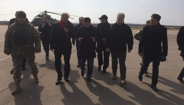 Клімкін і голова МЗС Люксембургу прибули до Маріуполя
