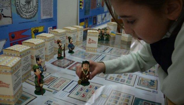 В Ивано-Франковске презентовали игрушки, прототипами которых стали Ярош и бойцы УДА