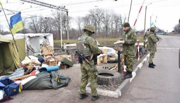 МВД показало оружие и боеприпасы, изъятые в Кривом Торце