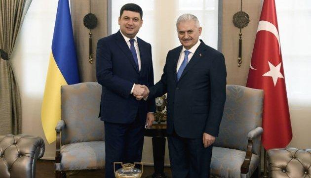 Гройсман запросив турецьку телерадіокомпанію TRT до України