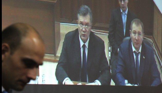 Справа про держзраду: на сьогодні запланований допит Януковича онлайн