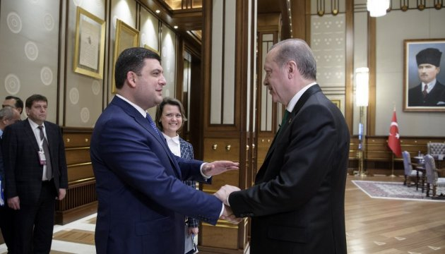 PM Groysman received
