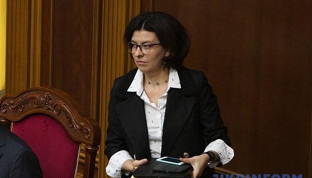 Сыроид призвала депутатов не кнопкодавить во время рассмотрения Избирательного кодекса