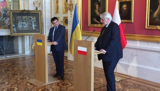 Клімкін і Ващиковський відновили роботу Українсько-польського форуму